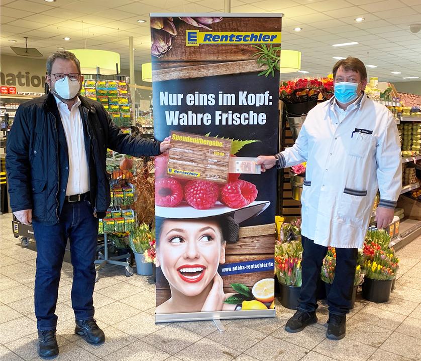 Spendenübergabe Diakonieverein Gäufelden
