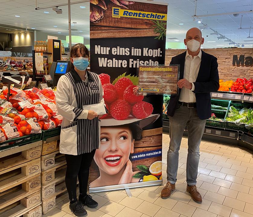 Spendenübergabe Seniorenzentrum Bondorf